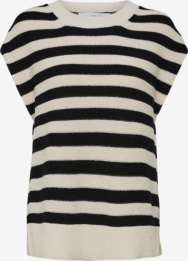 SELECTED FEMME Trui 'Palma' in de kleur Beige / Zwart, Productweergave