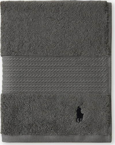 Ralph Lauren Home Badetuch 'Polo Player' in grau, Produktansicht