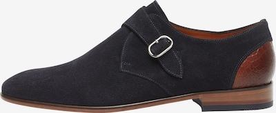 Van Lier Chaussure à lacets en bleu, Vue avec produit