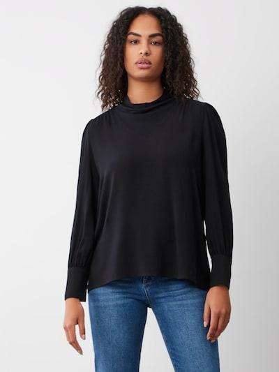 Aligne Bluse 'Ava' in schwarz, Modelansicht