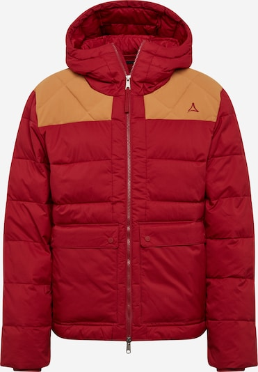 Schöffel Jacke 'Boston' in orange / rot, Produktansicht