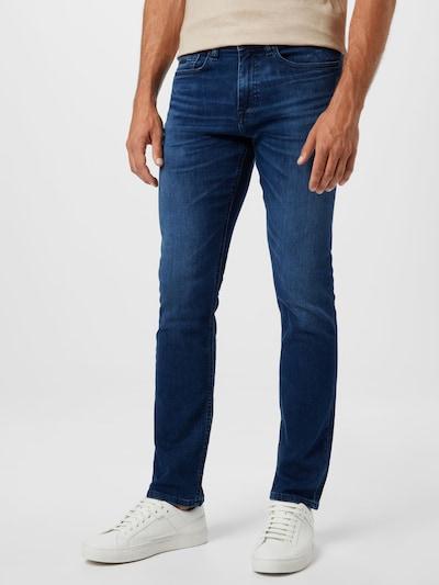 BOSS Casual Jeans 'Delaware' i blue denim, Modelvisning