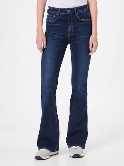 G-Star RAW Jeans in de kleur Donkerblauw, Modelweergave