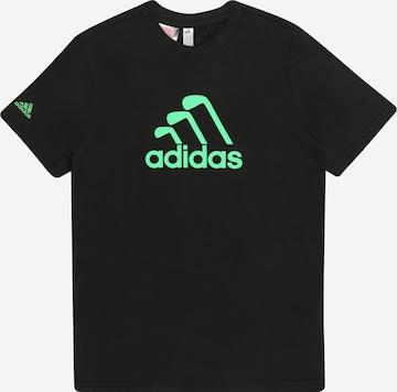 adidas Golf - Camiseta funcional 'YUNIX' en negro