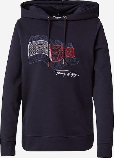 TOMMY HILFIGER Sweater majica u noćno plava / crvena / bijela, Pregled proizvoda