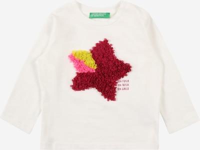 Maglietta UNITED COLORS OF BENETTON di colore giallo / rosa / rosso scuro / bianco, Visualizzazione prodotti