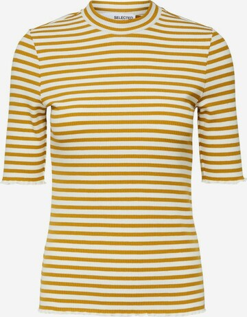 SELECTED FEMME Shirt in Yellow