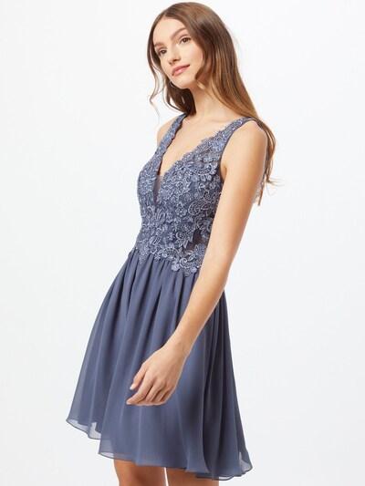Laona Cocktailkleid in taubenblau, Modelansicht