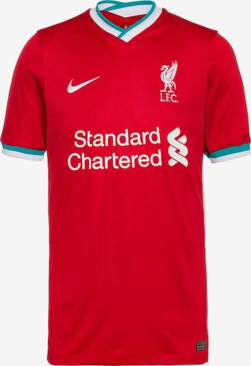 NIKE Fußballtrikot 'FC Liverpool 20-21 Heim' in türkis / rot / weiß, Produktansicht