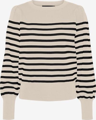 VERO MODA Pullover in schwarz / weiß, Produktansicht