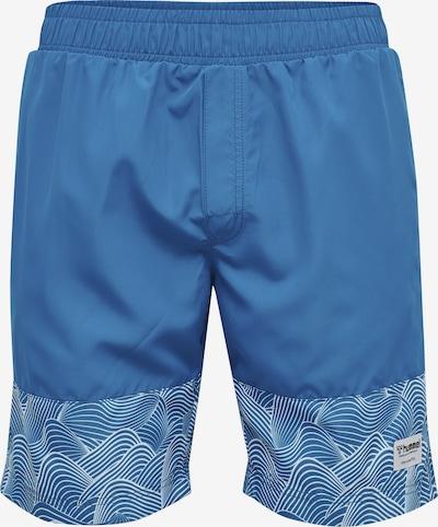 Hummel Boardshorts in himmelblau / weiß, Produktansicht