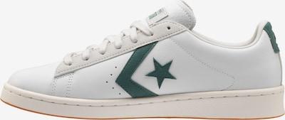 CONVERSE Sneaker in dunkelgrün / offwhite, Produktansicht
