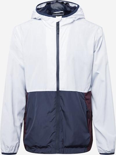 Cotton On Jacke in navy / burgunder / weiß, Produktansicht