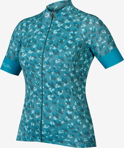 ENDURA Performance Shirt 'Canimal' in Turquoise / Light blue / Dark blue, Item view
