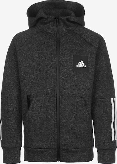 ADIDAS PERFORMANCE Sportief sweatvest in de kleur Zwart gemêleerd / Wit, Productweergave
