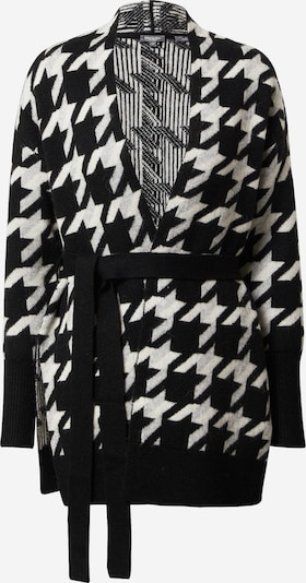 MINE TO FIVE Knit cardigan in black / white, Item view