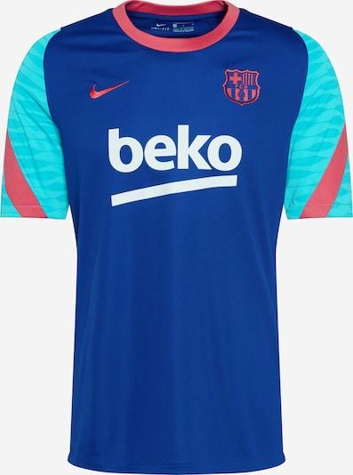 NIKE T-Shirt fonctionnel 'FC Barcelona Strike' en bleu / aqua / rose néon, Vue avec produit