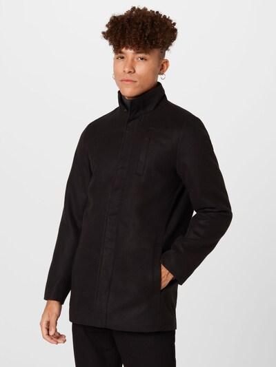 BLEND Mantel in schwarz, Modelansicht