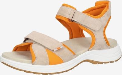 ARA Sandale in beige / orange, Produktansicht