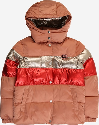 Scotch R'Belle Jacke in gold / lachs / rot, Produktansicht