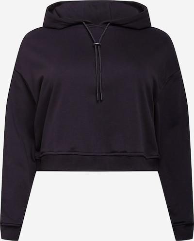 Urban Classics Curvy Majica 'Terry' | črna barva, Prikaz izdelka