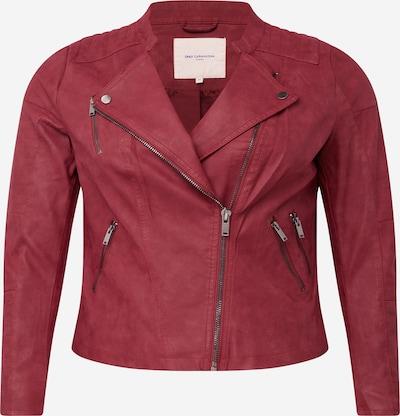 ONLY Carmakoma Prehodna jakna | vinsko rdeča barva, Prikaz izdelka