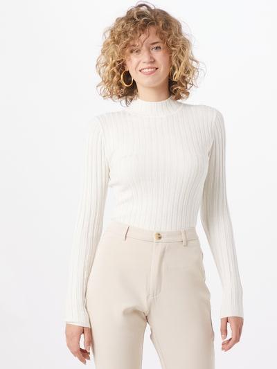 mbym Sweter 'Magen' w kolorze białym, Podgląd na modelu(-ce)