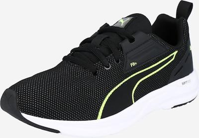 PUMA Sneakers 'Comet' in de kleur Geel / Zwart / Wit: Vooraanzicht