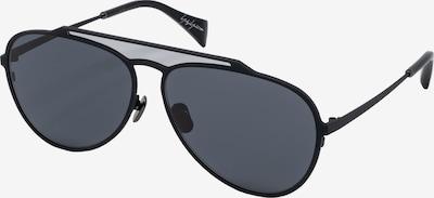 Yohji Yamamoto Eyewear Pilotenbrille 'YY7039-515' in schwarz, Produktansicht