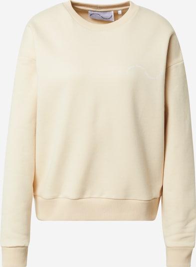Comfort Studio by Catwalk Junkie Sweatshirt 'BE GOOD DO GOOD' in Cream, Item view