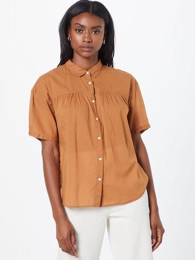 GAP Bluse in braun, Modelansicht