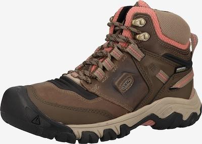 KEEN Boots in de kleur Bruin / Lichtbruin / Rosa, Productweergave