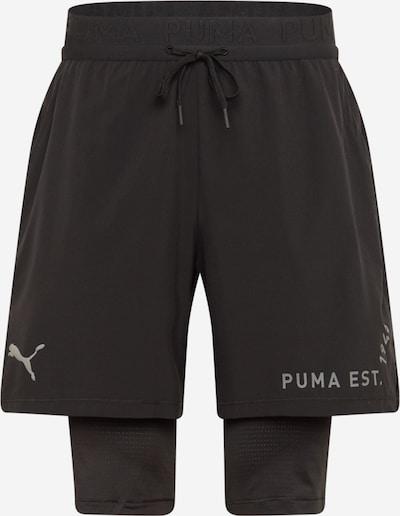 Pantaloni sportivi PUMA di colore grigio argento / nero, Visualizzazione prodotti