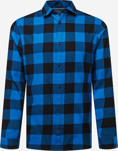 JACK & JONES Košeľa 'EGINGHAM' - nebesky modrá / čierna, Produkt