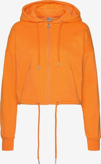 BENCH Sportsweatjacke in orange: Frontalansicht