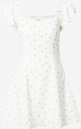 NA-KD Kleid in beige / weiß, Produktansicht