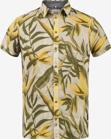 BLEND Kurzarmhemd in Gelb