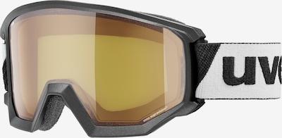 UVEX Brille 'athletic LGL' in grau / schwarz / weiß, Produktansicht