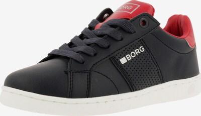 BJÖRN BORG Sneaker in nachtblau / rot, Produktansicht