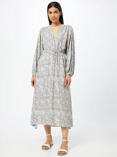 REPLAY Kleid in beige / navy / schwarz / weiß, Modelansicht