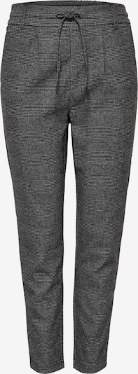 ONLY Pleat-Front Pants 'Poptrash' in Basalt grey / Stone / White, Item view