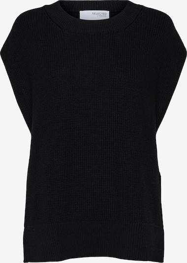 SELECTED FEMME Pulover 'SLFPALMA' | črna barva, Prikaz izdelka