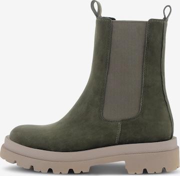 Kennel & Schmenger Chelsea Boots 'SHADE' in Grün