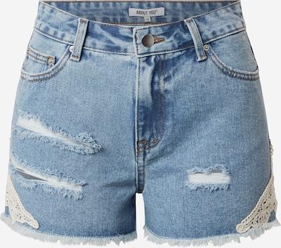 ABOUT YOU Shorts 'Duffy' in blue denim, Produktansicht