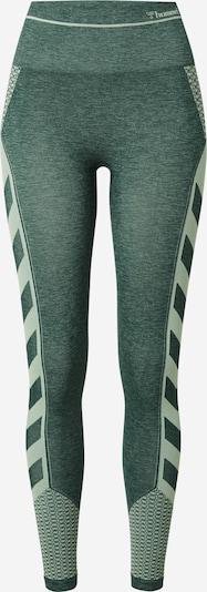 Hummel Sports trousers 'Vera' in Pastel green / Dark green, Item view