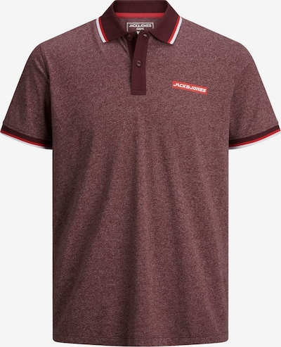 Jack & Jones Junior Poloshirt in rosegold / merlot / melone / weiß, Produktansicht