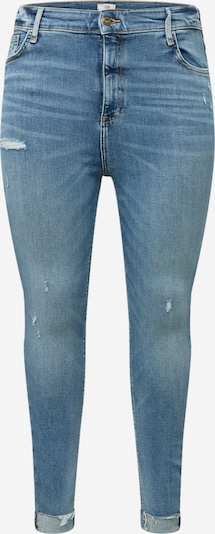 River Island Plus Jeans 'MARS' in blue denim, Produktansicht
