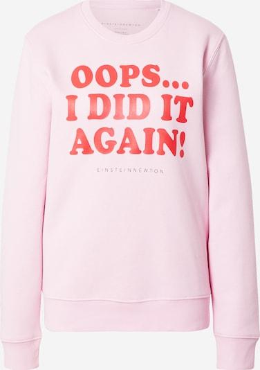 EINSTEIN & NEWTON Sweat-shirt 'Oops' en rose / rouge, Vue avec produit