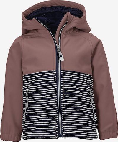 KILLTEC Performance Jacket in marine blue / Taupe / White, Item view