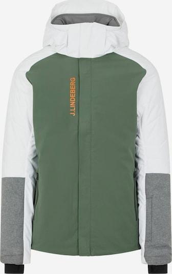 J.Lindeberg Winterjas in de kleur Grijs / Groen / Wit, Productweergave
